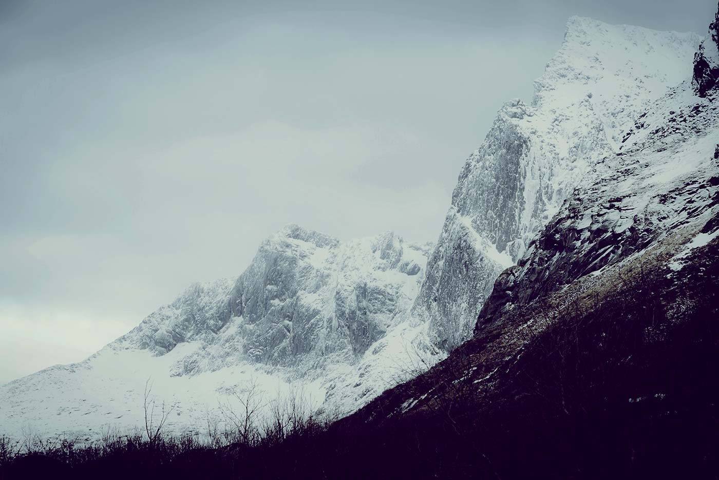 Cold Winter Mountains